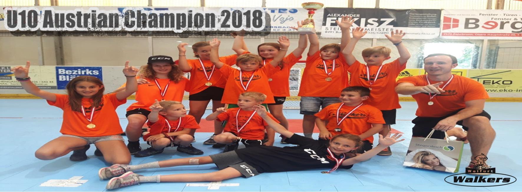 U10 Austrian -champion 2018